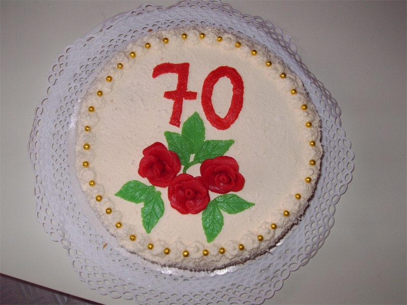 Бисквитный торт от Евы