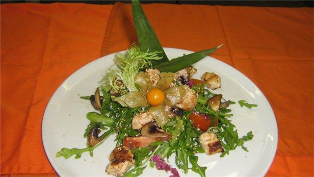 ...рецепт, салат коктейль с ветчиной и приготовление салатов из капусты.