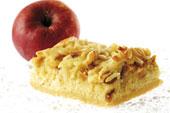 Творожно-яблочное пирожное