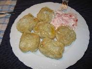 Манты с мясом по-узбекски
