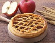 Слоенный пирог с яблоками