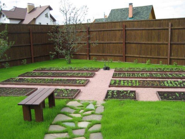 Дизайн для огорода своими руками фото